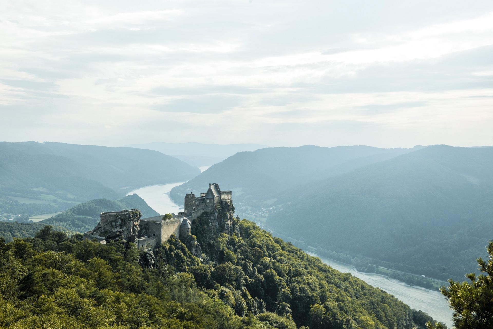 Burgruine Aggstein © Donau Niederösterreich / Steve Haider